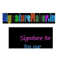 Make your Own Digital Signatures Online - SignatureMaker in